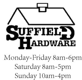 Suffield Hardware Logo